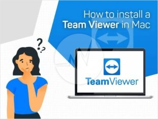 How to install a Team Viewer in Mac