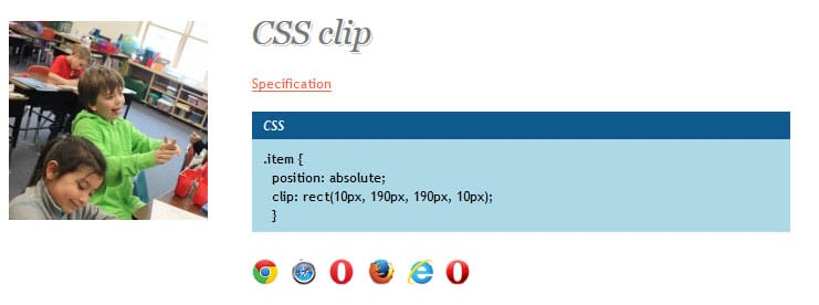 css clipping
