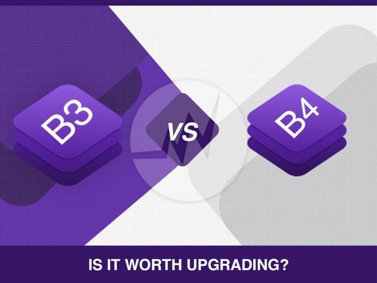 Bootstrap 3 vs 4
