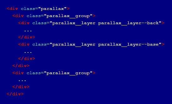 parallax css