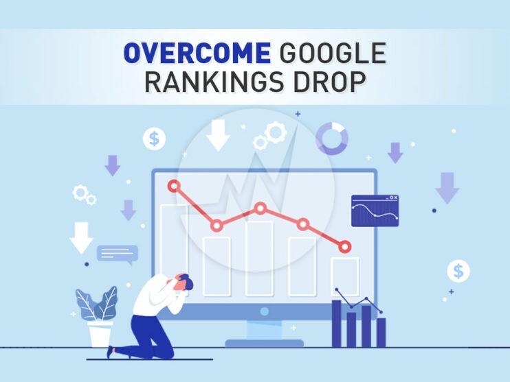 Overcome Google Rankings-drop