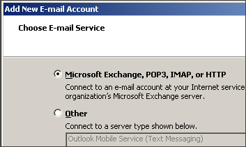 Add New Email Account
