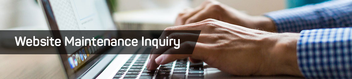 Website Maintenance Inquiry