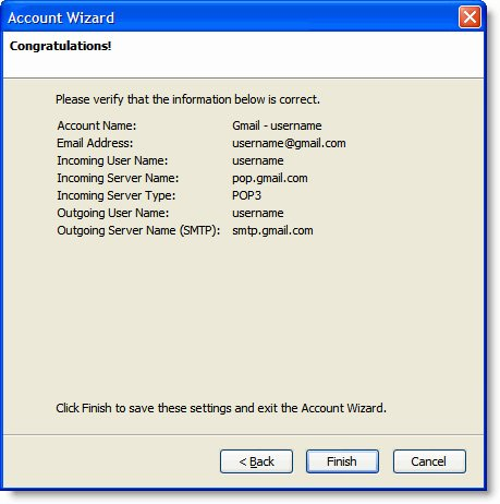 Access Your Gmail Account with Mozilla Thunderbird