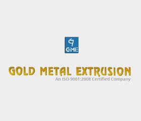 Gold Metal Extrusion
