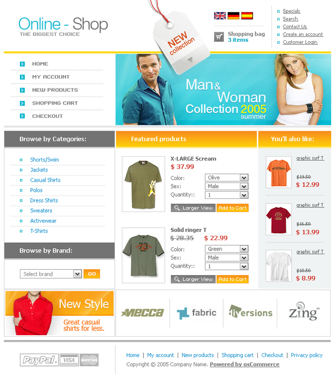 oscommerce templates skynet technologies rh skynetindia info osCommerce Shopping Cart Adult osCommerce Templates