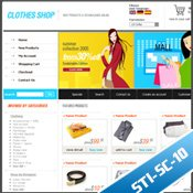 STI-SC - 10 Oscommerce Template
